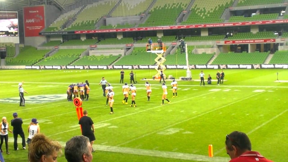 LFL – Victoria Maidens vs WA Angels – 14/12/13 – Highlight package