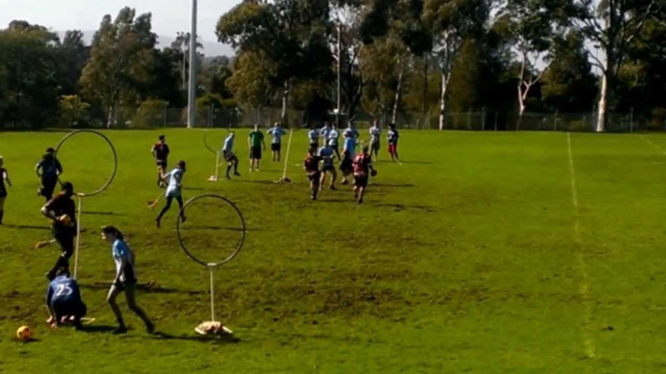 Quidditch – Melbourne Mudbash 2013 – Game Action