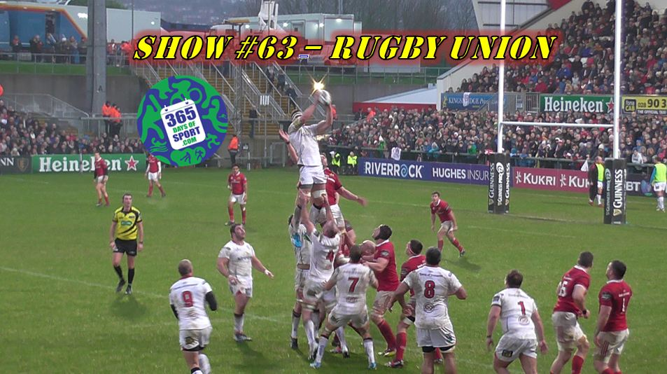 Show #63/365 – RUGBY UNION – 2.1.16